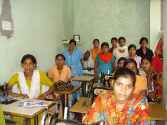 Tailoring training Samana Sundesh