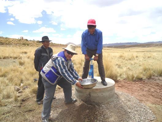PADEM Bolivie puit Chijchi