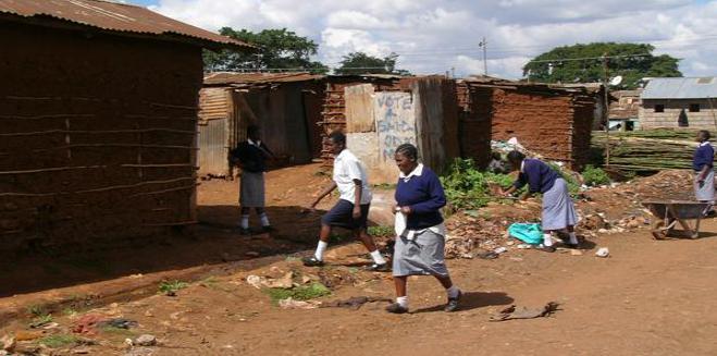 Kenya bidonville