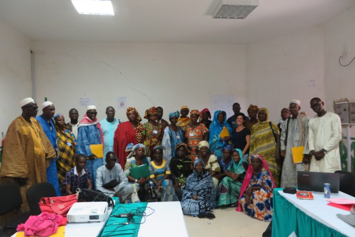 Formation Badienu Gox – remise des attestations 21 septembre 2017