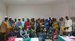 Formation Badienu Gox – remise des attestations 21 septembre 2017