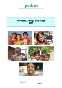 Rapport d'Activités 2007