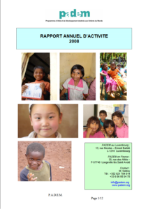 Rapport d'Activités 2008